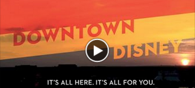Downtown Disney update video